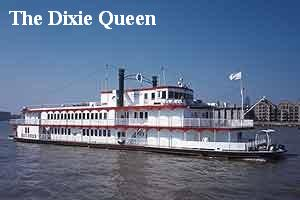Dixie Queen Thames River Boat